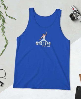 Camiseta tirantes Air Mercury color azul