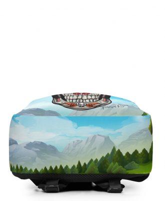 Mochilas con paisajes de montañas