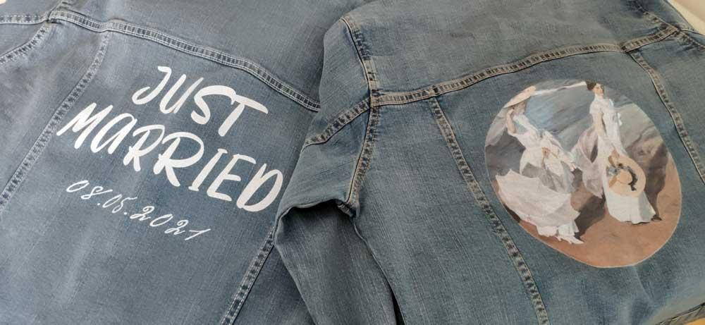 Nuevas chaquetas vaqueras personalizadas