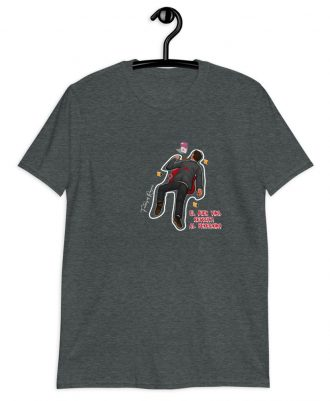 Camiseta gris oscuro el peregrino