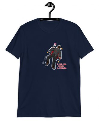 Camiseta azul marino el peregrino