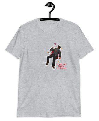 Camiseta gris el peregrino