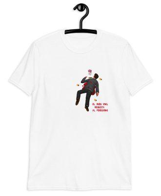 Camiseta blanca el peregrino